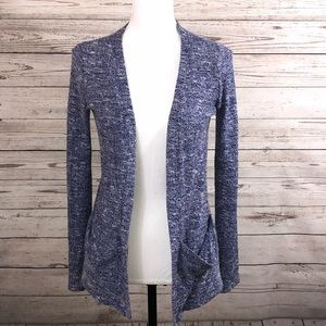 Sparkle & Fade Anthropologie Cardigan Heathered